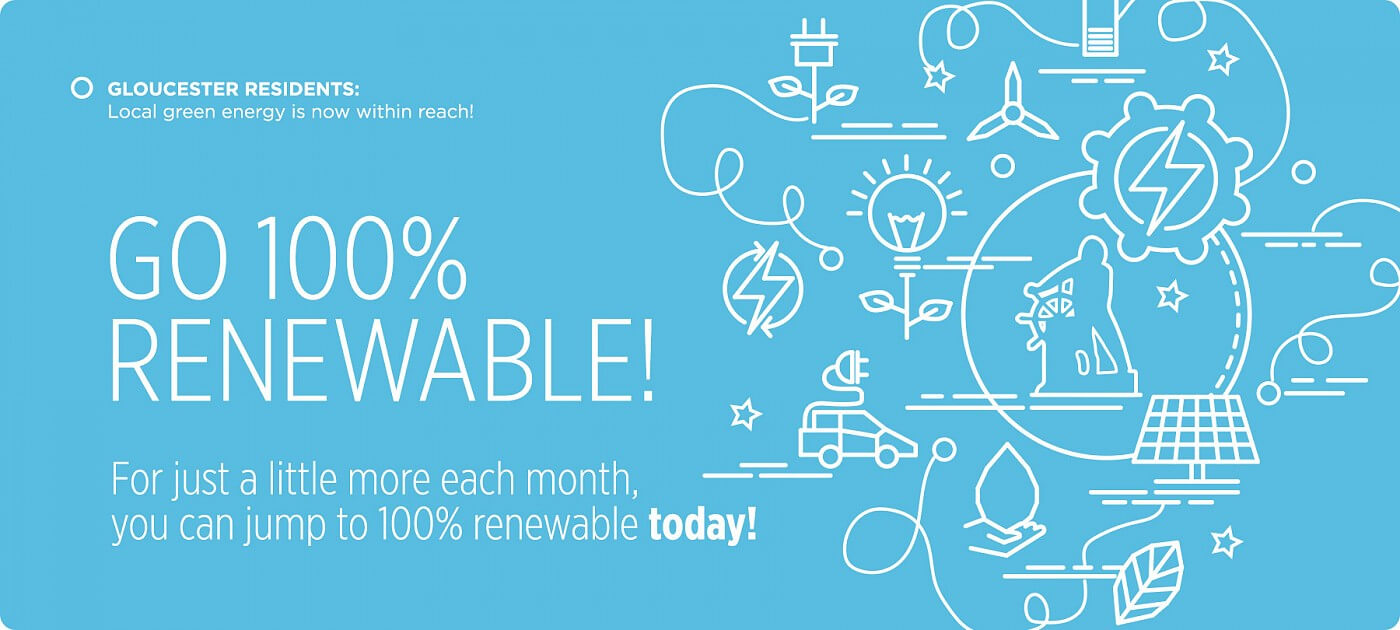 Make the Switch to 100% renewable power today!